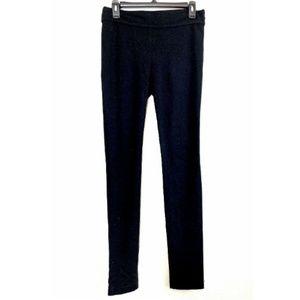 Diane Von Furstenberg Black Lendra Legging Pants